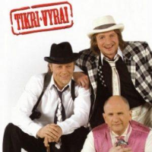 Trys vyrai